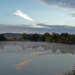 Září na rybníku Nohavice